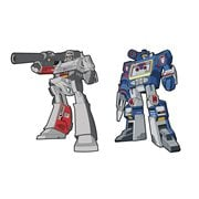 Transformers Megatron and Soundwave Retro Pin 2-Pack Set