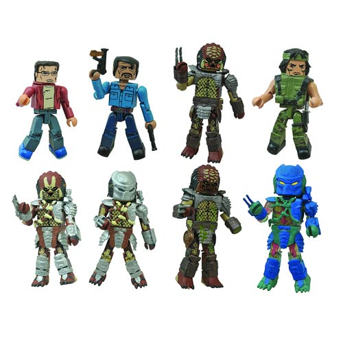 Predator Series 1 Minimates Blind Bag Random 6-Pack
