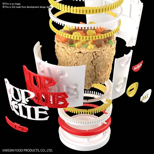 Nissin Cup Noodle Best Hit Chronicle 1:1 Scale Model Kit