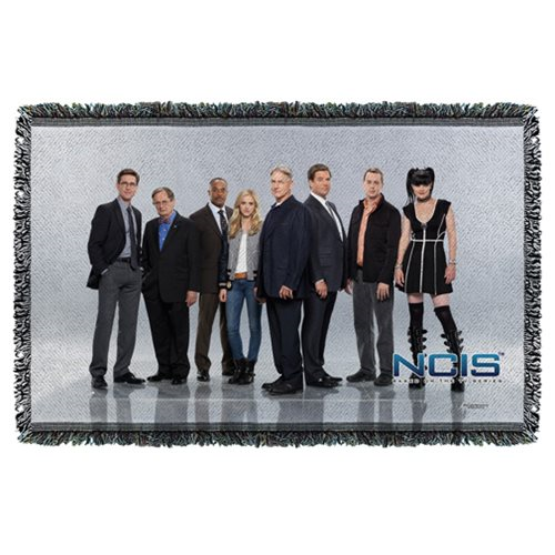 NCIS Group Woven Tapestry Throw Blanket