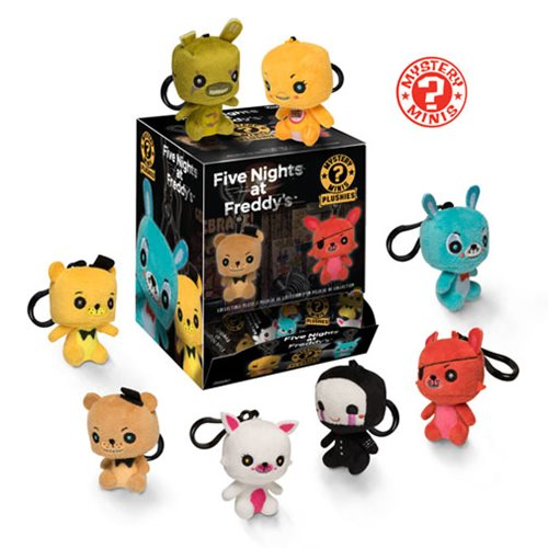 Five Nights at Freddy's Mystery Minis Plush Key Chain Display Case