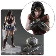 Batman v Superman: Dawn of Justice Wonder Woman Play Arts Kai Action Figure
