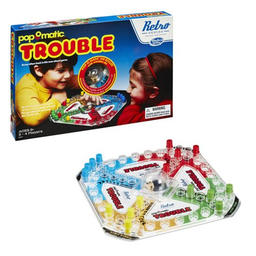 Trouble Retro Series 1986 Edition Game