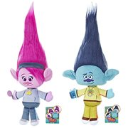 Trolls Stylin' Hair Plush Dolls Wave 1 Case