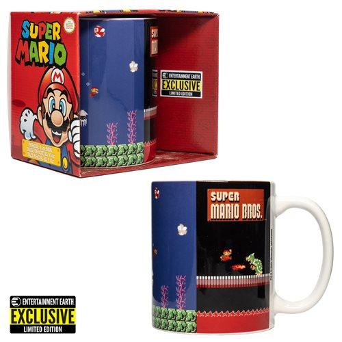 Super Mario Bros. Panels Mug - Entertainment Earth Exclusive
