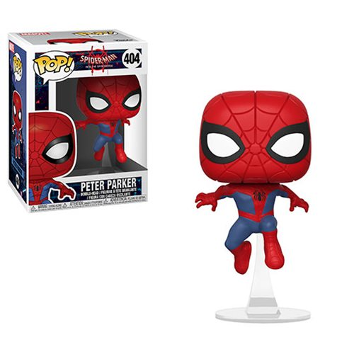 Spider-Man: Into the Spider-Verse Peter Parker Pop! Vinyl Figure #404