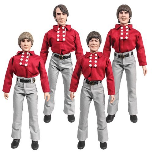 The Monkees 12-Inch Retro Action Figures Series 1 Set
