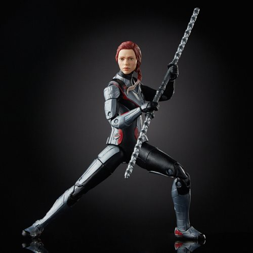 Avengers Marvel Legends Series 6-Inch Black Widow and Hawkeye Action Figure Set