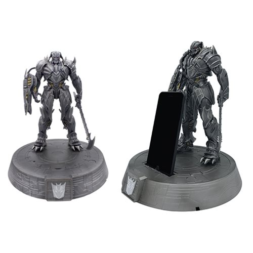 Transformers The Last Knight Megatron Phone Stand Statue
