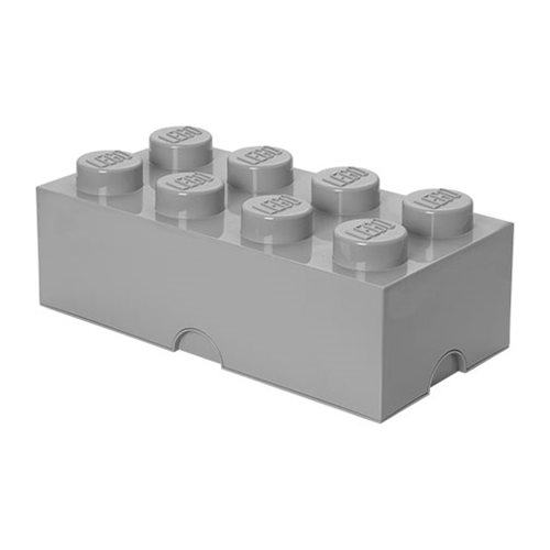 LEGO Batman Medium Stone Grey Storage Brick 8