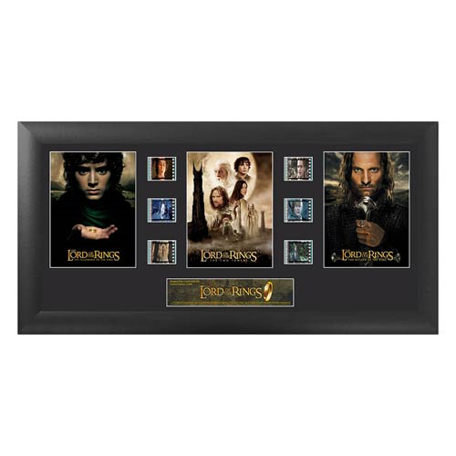 The Lord of the Rings Series 1 Trilogy Film Cell