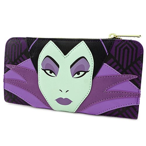 Disney Villains Maleficent Top-Zip Flap Wallet
