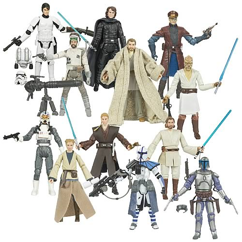 Star Wars Action Figures: Legacy Collection Wave 7 Rev. 1