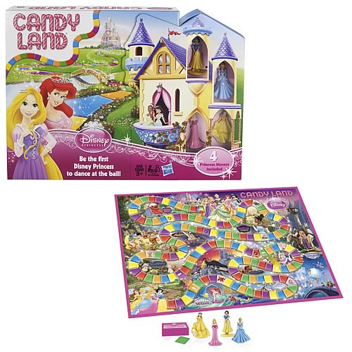Candy Land Disney Princess Edition Game Entertainment Earth