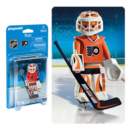 Playmobil 9032 NHL Philadelphia Flyers Goalie Action Figure