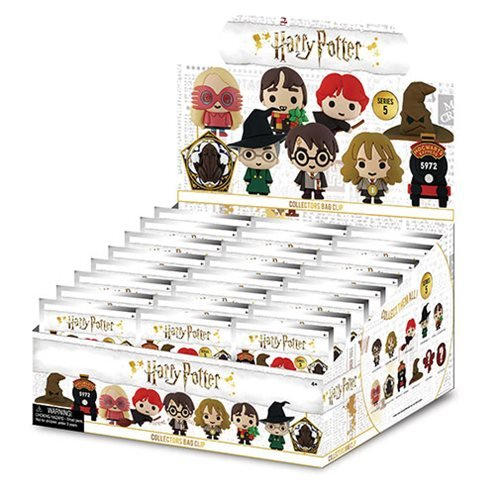 Harry Potter Series 5 Figural Key Chain Random 6-Pack