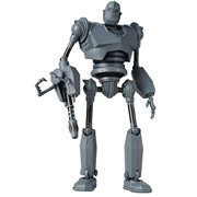 Iron Giant Robot Battle Mode Version Die-Cast Metal 1:12 Scale Action Figure