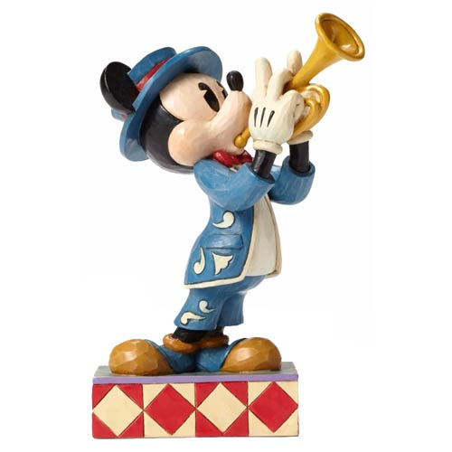 Disney Traditions Mickey Mouse Bugle Boy Statue