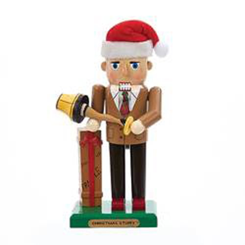 A Christmas Story Mr. Parker with Leg Lamp 11-Inch Nutcracker