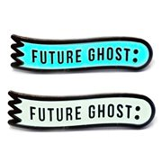 Creepy Co. Future Ghost GITD Hard Enamel Pin