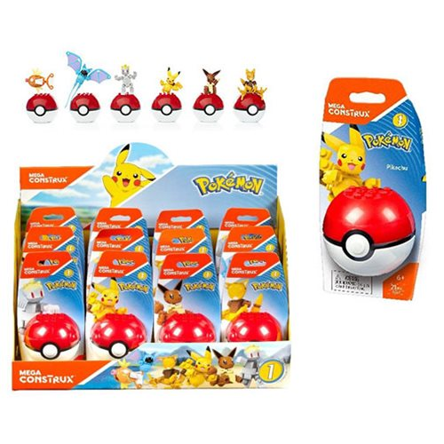 Mega Construx Pokemon Poke Ball Series 2 Case