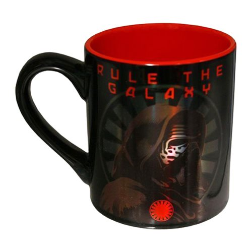 Star Wars: Episode VII - The Force Awakens Kylo Ren Rule the Galaxy 14 oz. Laser Ceramic Mug