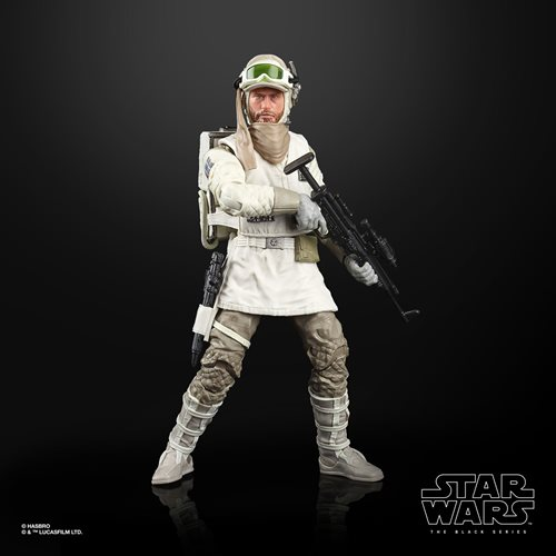 Star Wars The Black Series Rebel Trooper (Hoth) 6-Inch Action Figure