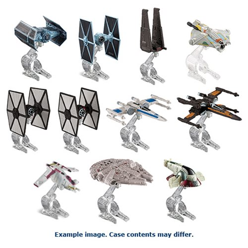 Star Wars Hot Wheels Starships Wave 6 Case