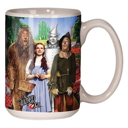 The Wizard of Oz Cast Photo 14 oz. Ceramic Mug
