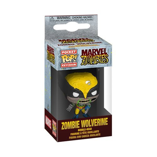 Marvel Zombies Wolverine Pocket Pop! Key Chain