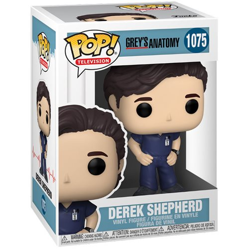 Grey's Anatomy Derek Shepherd Pop! Vinyl Figure