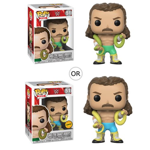 WWE Jake the Snake Pop! Vinyl Figure, Not Mint