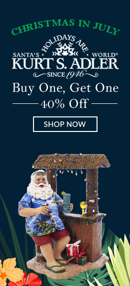 Kurt S. Adler Sale Buy One Get One 40% Off