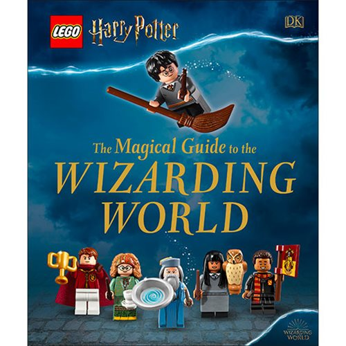 LEGO Harry Potter The Magical Guide to the Wizarding World Hardcover Book