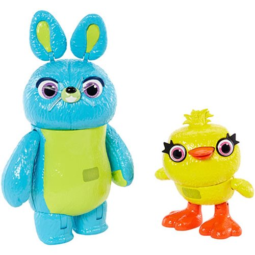 Toy Story 4 Ducky and Bunny Action Figure 2-Pack