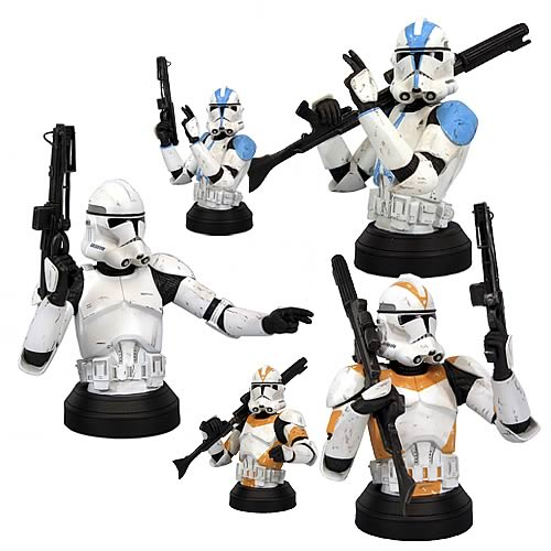 Star Wars Revenge Of The Sith Clone Trooper Case Entertainment Earth
