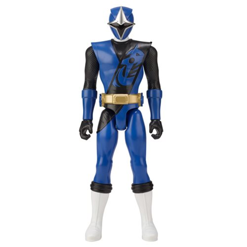 Power Rangers Super Ninja Steel Blue Ranger 12-Inch Action Figure