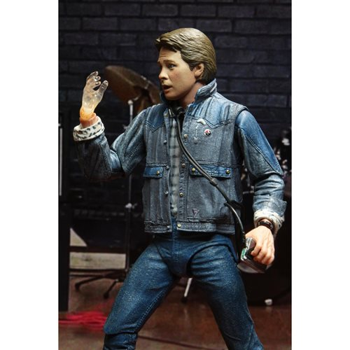 Back to the Future Ultimate Marty McFly 1985 Audition 7-Inch Scale Action Figure