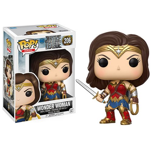 Justice League Movie Wonder Woman Pop! Vinyl Figure
