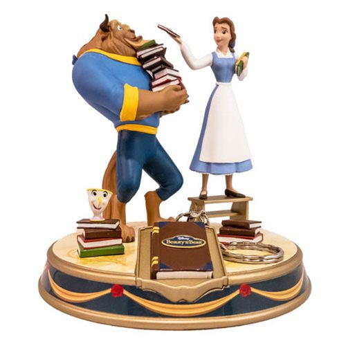 Beauty and the Beast Finders Keyper Statues