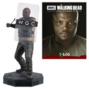 The Walking Dead T-Dog Figure with Collector Magazine #23