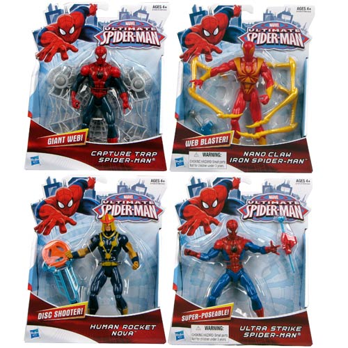 Ultimate Spider-Man Action Figures Wave 1 Set