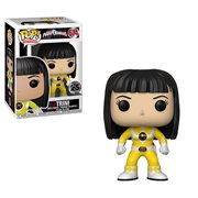 Power Rangers Yellow Ranger No Helmet Pop! Vinyl Figure #674, Not Mint