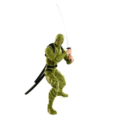 Articulated Icons Green Basic Ninja 6-Inch Action Figure