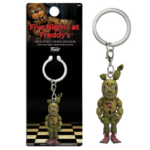 Five Nights at Freddy's Springtrap Figural Key Chain