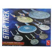 Star Trek U.S.S. Enterprise 1:2500 Scale Snap-Fit Model Kit