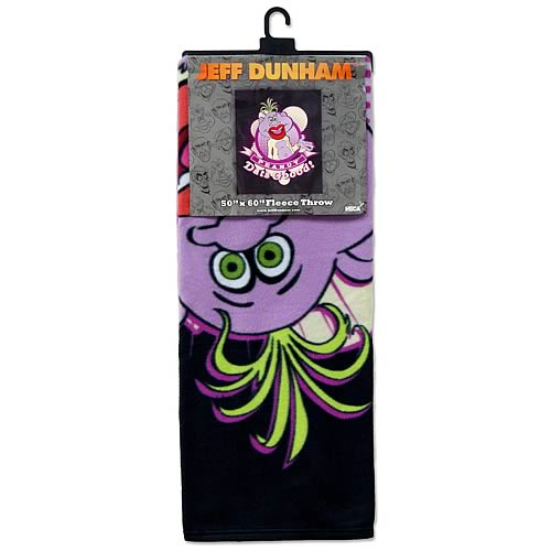 Jeff Dunham Peanut Dat's Good Fleece Bed Throw