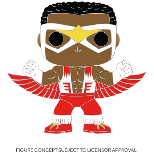 Captain America Falcon Large Enamel Pop! Pin