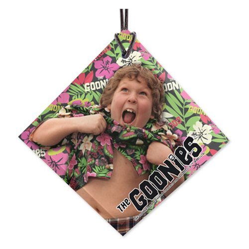 Goonies Chunk StarFire Prints Hanging Glass Ornament