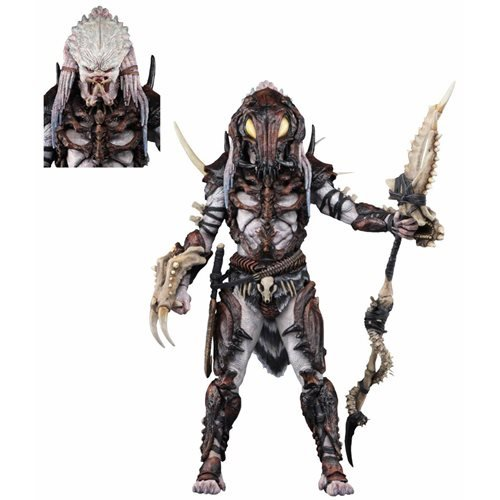 Predator Ultimate Alpha Predator 7-Inch Scale 100th Action Figure, Not Mint